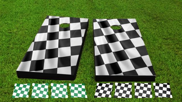 Racing Checkered Flag Game Set