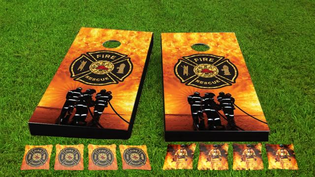 Firefighter Maltese Cross Game Set