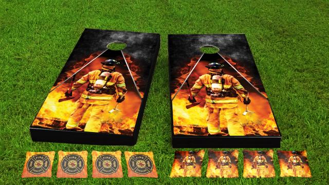 Firefighter Themed Game Set