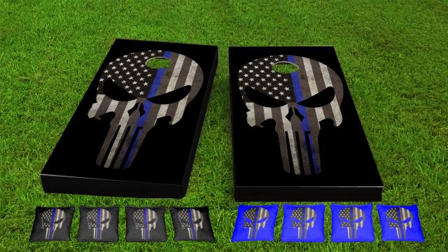 Original Punisher Thin Blue Line Game Set