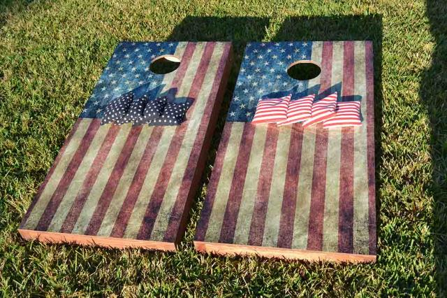 USA Worn American Flag Bundle Kit