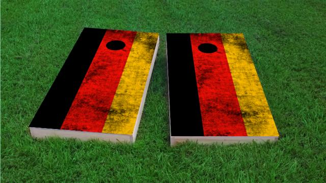 Worn National (Germany) Flag