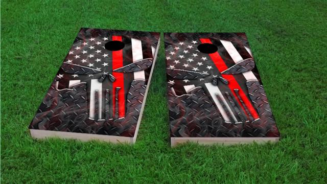 Punisher American Flag Thin Red Line