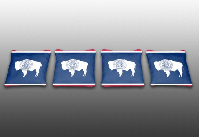 Wyoming State Flag Specialty Bags