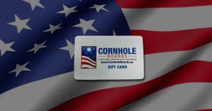 Custom Cornhole Boards Gift Cards for All Your Summer Gift Giving Needs