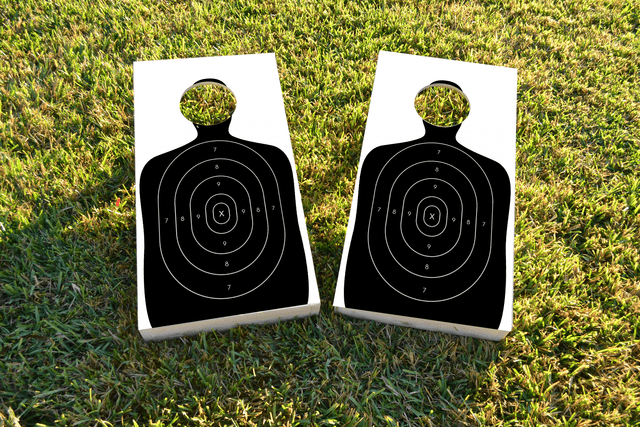 Gun Range Target