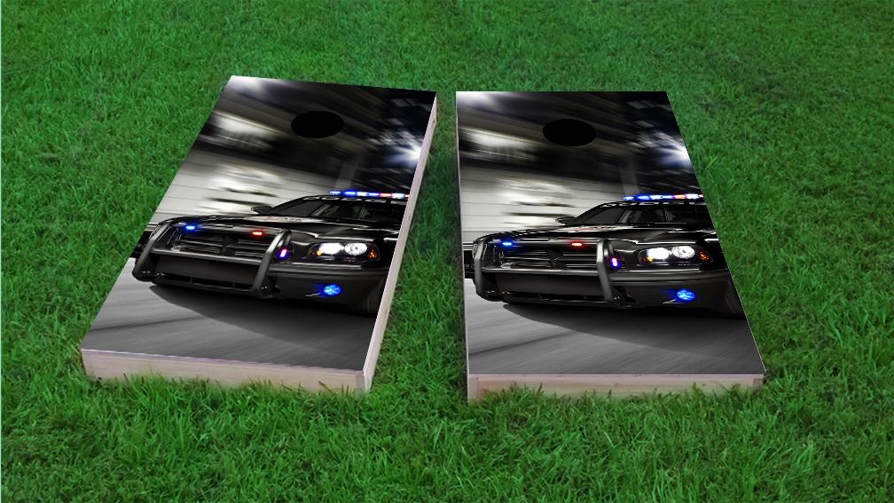 Cars Trucks And Racing Themed Custom Cornhole Board Game Sets