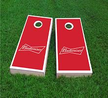 Budweiser Custom Cornhole Boards