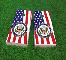United States State Department Cornhole Boards