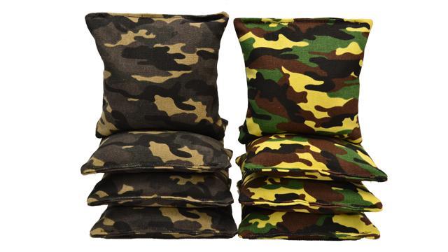 Camouflage Cornhole Bags