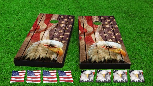 USA Bald Eagle Wood Slat Combo Kit