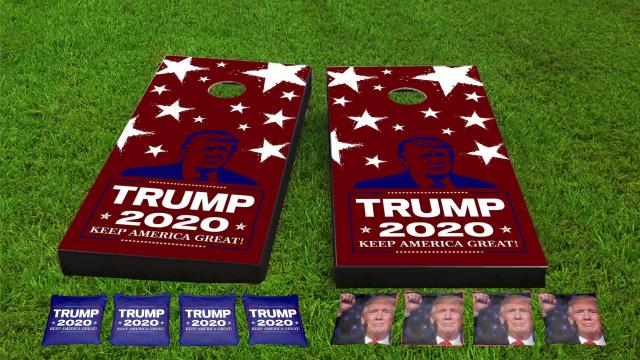 Trump 2020 Cornhole Boards Combo Kit
