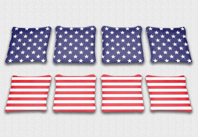 Unfilled Stars & Stripes Bags