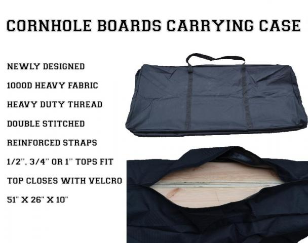Regulation Size Cornhole Boards Carrying Case