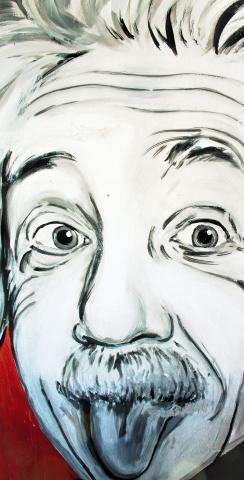 Artistic Einstein