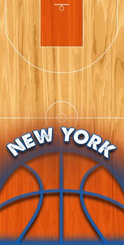 Basketball New York Themed Custom Cornhole Board Design