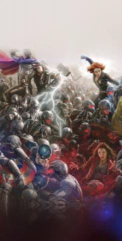 Marvel Comics Themed Custom Cornhole Board Design