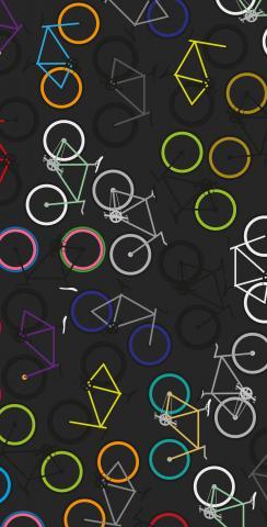 Bikes Themed Custom Cornhole Board Design