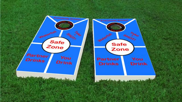 Adult Cornhole Drinking Game