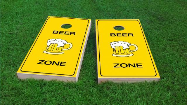 Bright Yellow Beer Zone