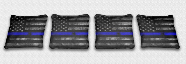Police Worn Thin Blue Line