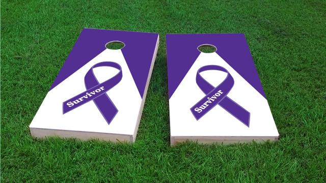 Purple Survivor Ribbon