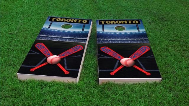Toronto Baseball Themed