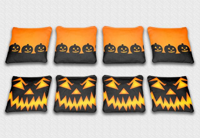 Halloween Themed premium specialty custom cornhole bags made right here in the USA!